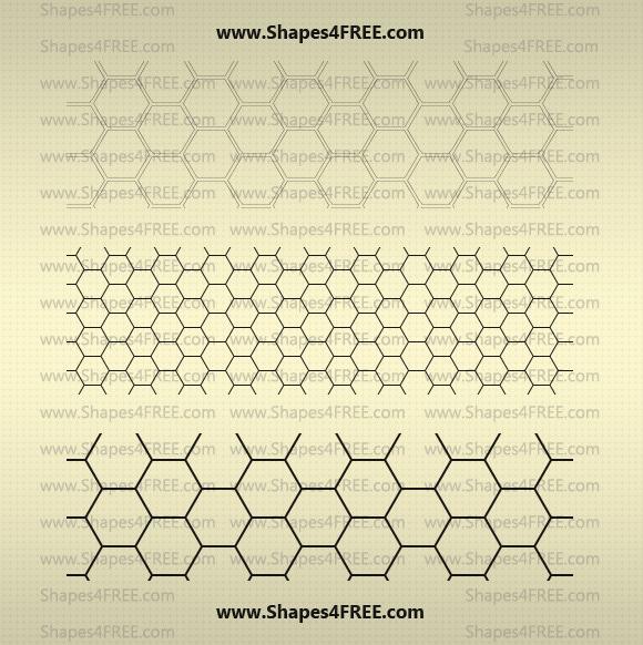22 Hexagon Photoshop Patterns Pat Photoshop 3
