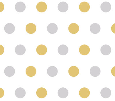 Gold & Silver Polka Dot Vector Pattern