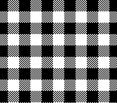 Black Vichy Vector Pattern (SVG)