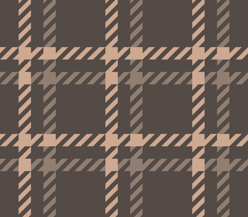 Brown Houndstooth Check Vector Pattern (SVG)
