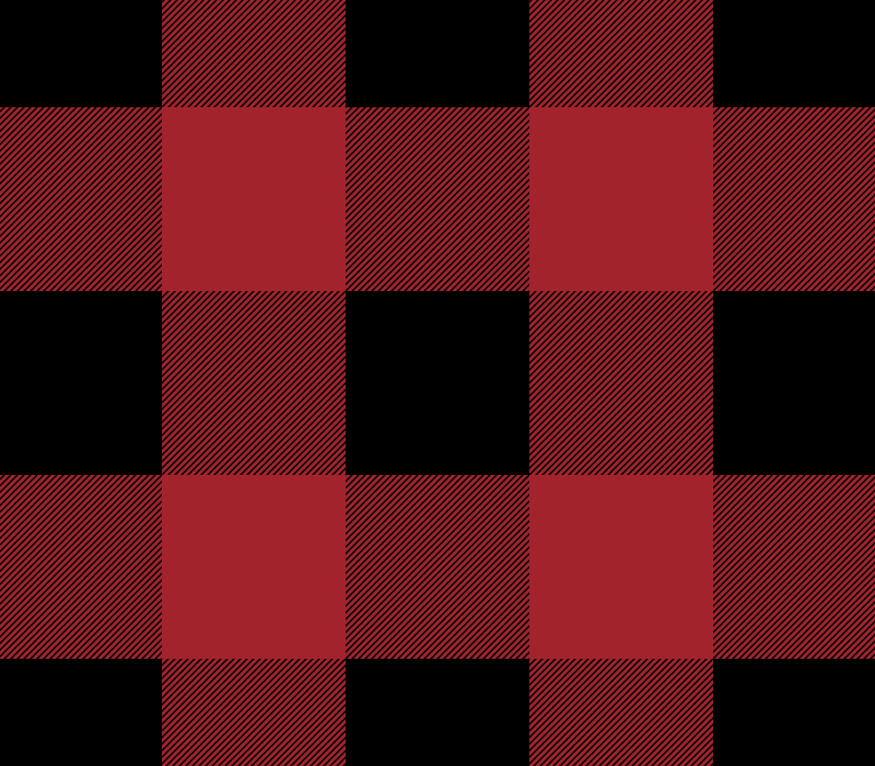 Red & Black Buffalo Check Pattern Vector (SVG)