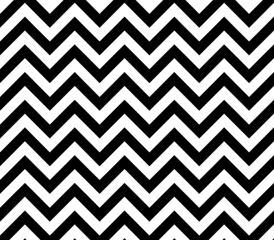 Black White Zigzag Vector Pattern (SVG)