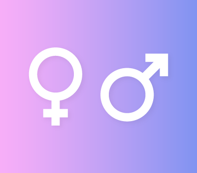 Mars & Venus Gender Vector Icons