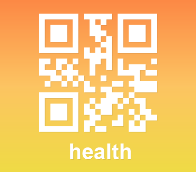 QR Code Icon: Health (Photoshop & Vector Shape)