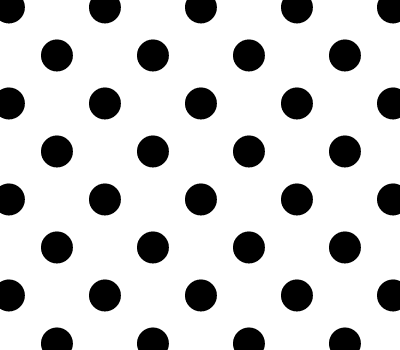 Seamless Monochrome Polka Dot Vector Background