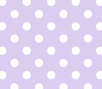 Seamless Purple & White Polka Dot Vector Background