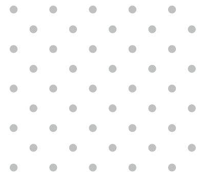 Simple Grey & White Polka Dot Pattern Vector