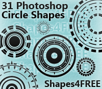 31 Photoshop Circle Shapes
