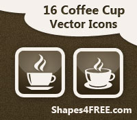 16 Free Coffee Cup Vector Icons
