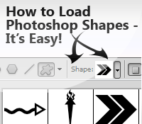 Install Photoshop Shapes into Photoshop – It's Easy!