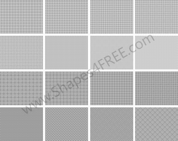 Grid Patterns for Photoshop
