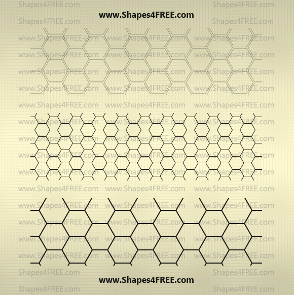 22 Hexagon Photoshop Patterns (PAT) | Photoshop Patterns