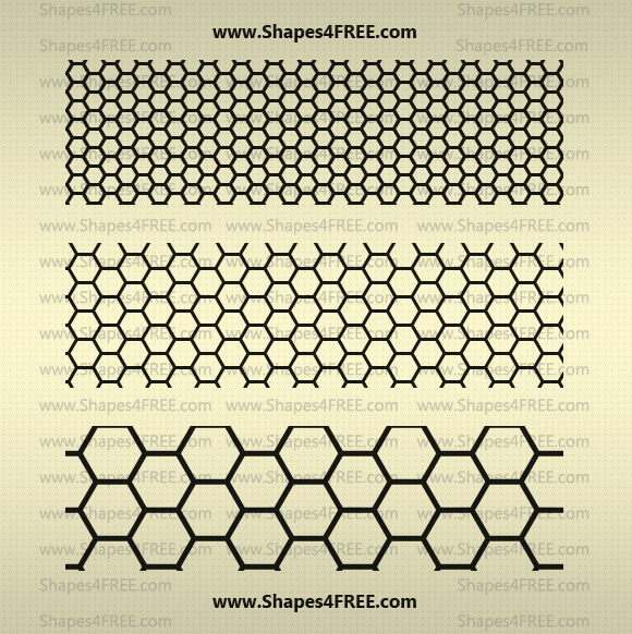 Hexagon Photoshop Patterns