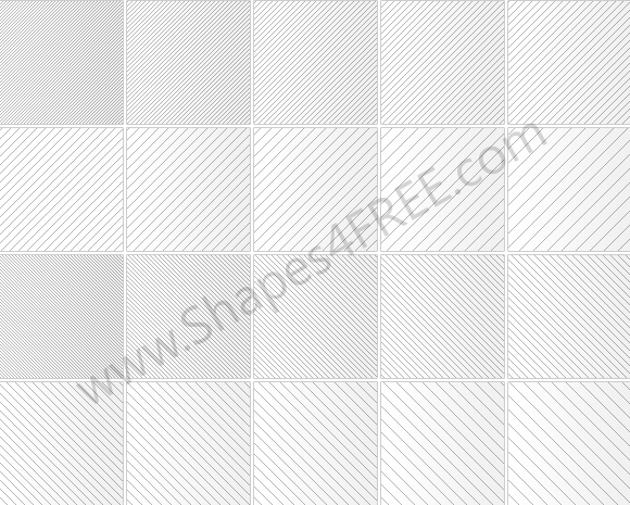 80 Simple Line Pixel Patterns