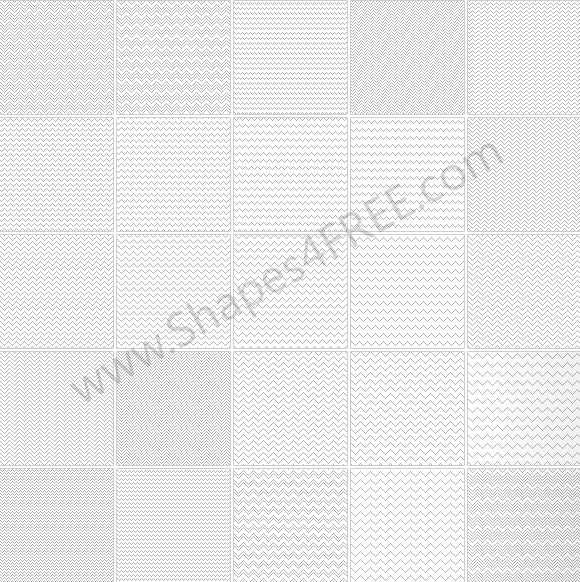 100 Photoshop Zigzag Patterns