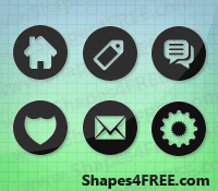 45 Photoshop Web Shapes