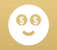 Emoticons Icons - Money (Volume 2)