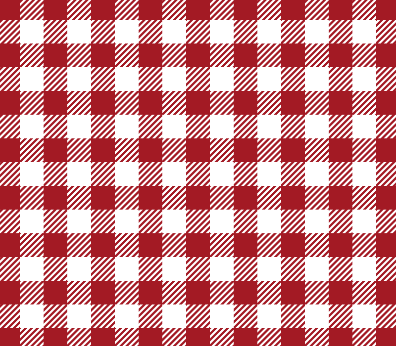 Red Gingham Vector Pattern (SVG)
