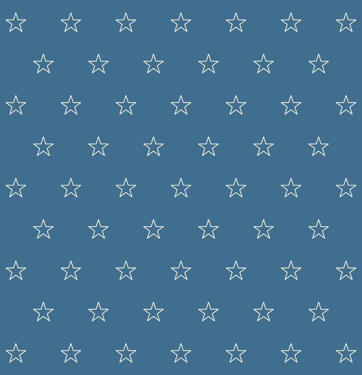 Lovely Stars Pattern On Blue Background (SVG)   Vector Patterns